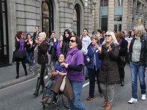 Dones manifestació